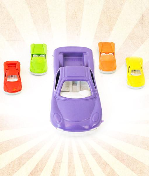 Mini Renkli Araba