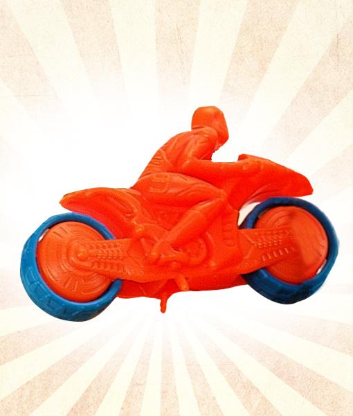 Mini Renkli Motosiklet