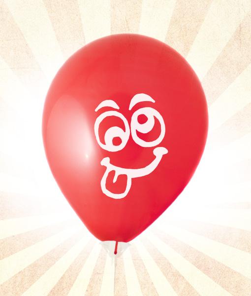 Gülen Yüz Balon