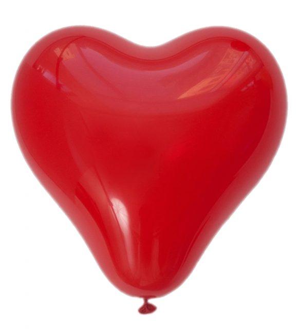 Kalpli Kırmızı Balon (2 Adet)